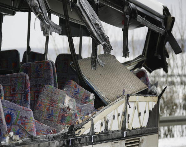 School Bus「Schoolbus Crash in Coppenbruegge」:写真・画像(5)[壁紙.com]