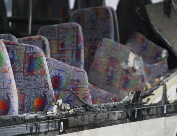School Bus「Schoolbus Crash in Coppenbruegge」:写真・画像(3)[壁紙.com]