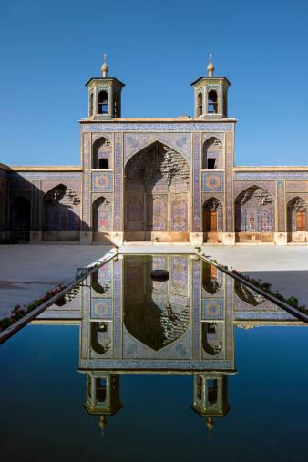 Iranian Culture「The Nasir al Mulk Mosque in Shiraz, Iran」:スマホ壁紙(15)