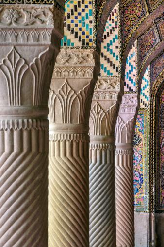 Iranian Culture「The Nasir al Mulk Mosque in Shiraz, Iran」:スマホ壁紙(3)
