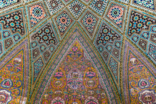 Iranian Culture「The Nasir al Mulk Mosque in Shiraz, Iran」:スマホ壁紙(2)