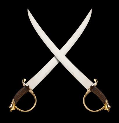 Cavalry「Crossed Swords on Black, great Pirate or Cavalry Theme.」:スマホ壁紙(4)
