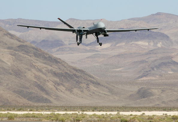 Drone Pilot「Reaper Aircraft Flies Without Pilot From Creech AFB」:写真・画像(13)[壁紙.com]