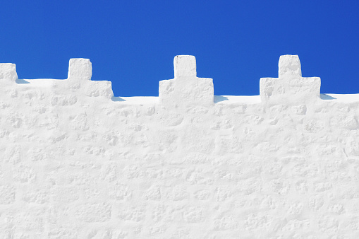 パトモス島「White castle」:スマホ壁紙(14)