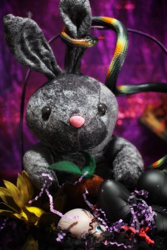 Easter Basket「Black Easter Bunny」:スマホ壁紙(1)
