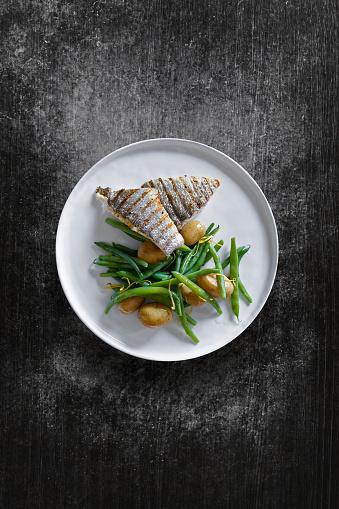 Gourmet「Fish dish」:スマホ壁紙(15)