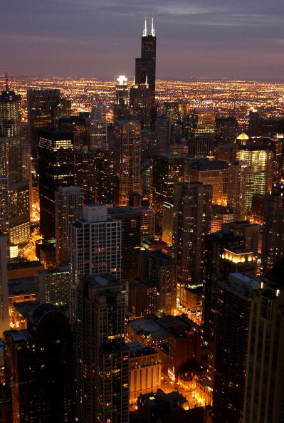 Urban Skyline「Sears Tower And John Hancock Go Dark In Observance Of Earth Hour」:写真・画像(13)[壁紙.com]