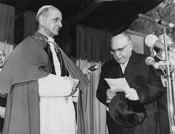Middle East「Pope Paul VI And President Shazar」:写真・画像(14)[壁紙.com]