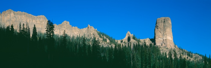 "Uncompahgre National Forest「""Chimney Peak in Uncompahgre National Forest, Ridgeway, Colorado""」:スマホ壁紙(12)"