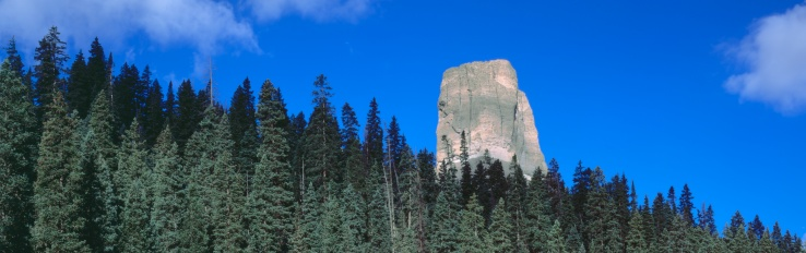 "Uncompahgre National Forest「""Chimney Peak in Uncompahgre National Forest, Ridgeway, Colorado""」:スマホ壁紙(16)"