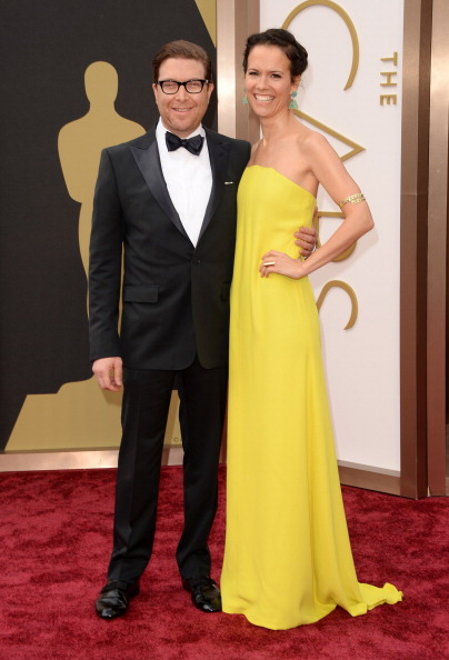 Strapless Evening Gown「86th Annual Academy Awards - Arrivals」:写真・画像(11)[壁紙.com]