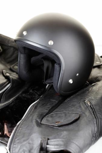 Leather Jacket「Motorbike Helmet and Jacket」:スマホ壁紙(19)