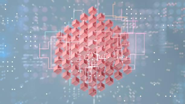 Cube formation:スマホ壁紙(壁紙.com)