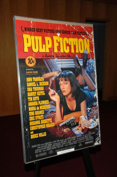 "Poster「AMPAS Screens ""Pulp Fiction"" As Part Of It's Great To Be Nominated Series」:写真・画像(8)[壁紙.com]"