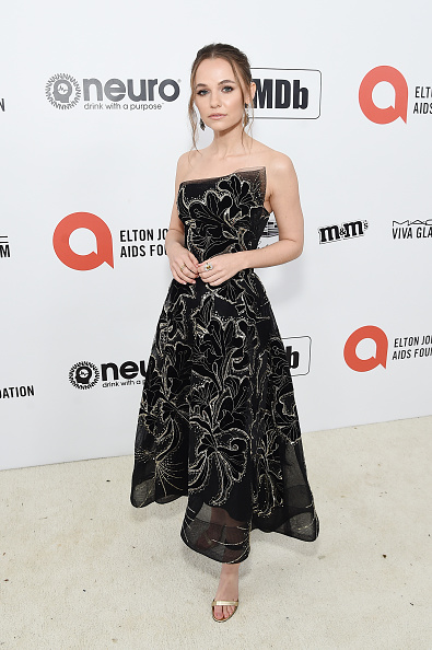Strapless Dress「28th Annual Elton John AIDS Foundation Academy Awards Viewing Party Sponsored By IMDb, Neuro Drinks And Walmart - Red Carpet」:写真・画像(1)[壁紙.com]