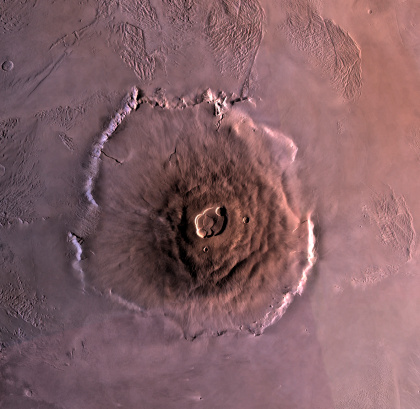 Solar System「Olympus Mons, the largest known volcano in the Solar System.」:スマホ壁紙(19)