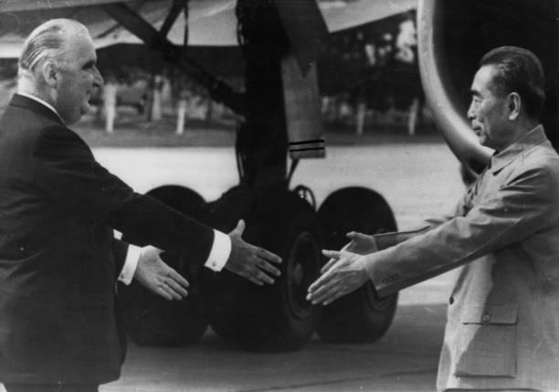 Zhou Enlai And Pompidou:ニュース(壁紙.com)