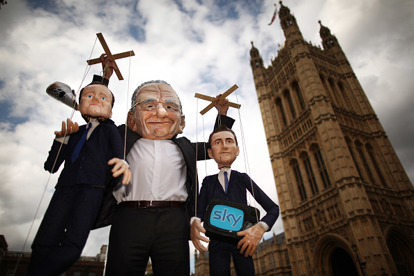 Puppet「The Investigation Into The News Of The World Phone Hacking Allegations Continues」:写真・画像(12)[壁紙.com]