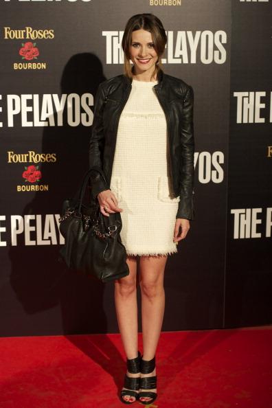 Leather Jacket「'The Pelayos' Madrid Premiere」:写真・画像(9)[壁紙.com]