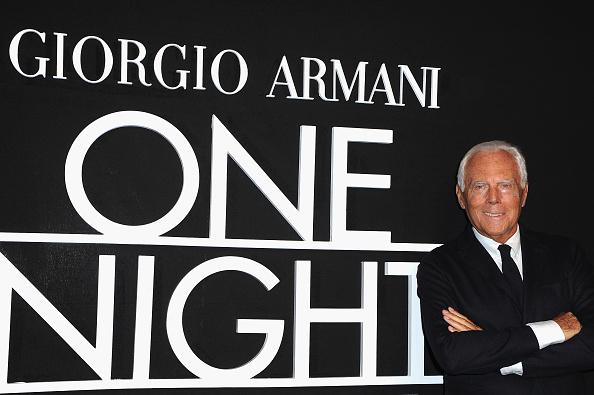 ブランド ジョルジオアルマーニ「Giorgio Armani Prive : Front Row - Paris Fashion Week - Haute Couture S/S 2014」:写真・画像(6)[壁紙.com]