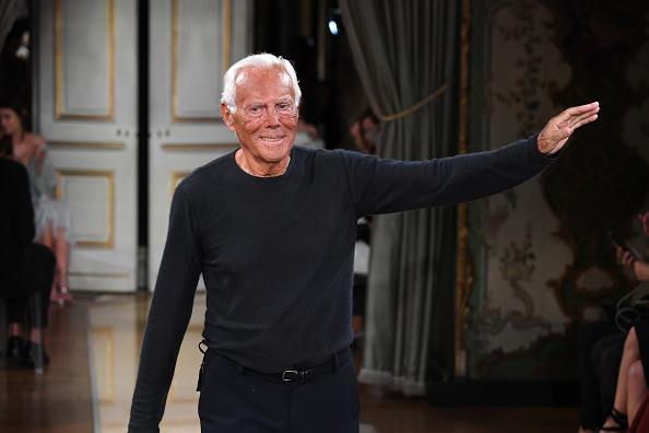 ブランド ジョルジオアルマーニ「Giorgio Armani Prive : Runway - Paris Fashion Week - Haute Couture Fall Winter 2018/2019」:写真・画像(11)[壁紙.com]