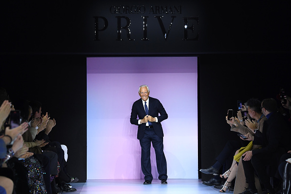 Fashion show「Giorgio Armani Prive : Runway - Paris Fashion Week - Haute Couture Spring/Summer 2020」:写真・画像(1)[壁紙.com]