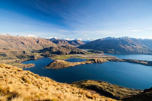 New Zealand「Lake Wanaka From Roys Peak」:スマホ壁紙(7)