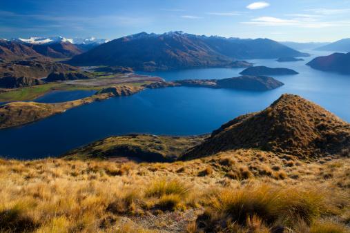 Mt Aspiring「ワナカ湖、アルプス山脈&ミナミ」:スマホ壁紙(12)
