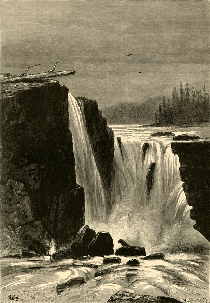 Basalt「Southern Side Of Willamette Falls」:写真・画像(17)[壁紙.com]