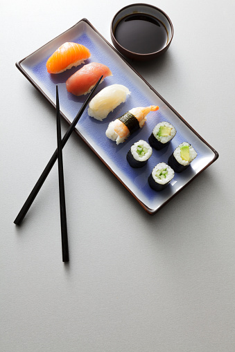 Sake「Asian Food: Sushi Still Life」:スマホ壁紙(0)