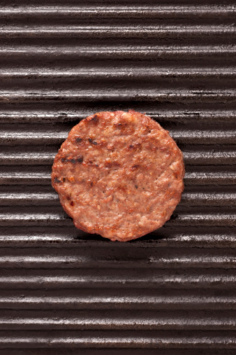 Barbecue Grill「Grilled burger」:スマホ壁紙(1)