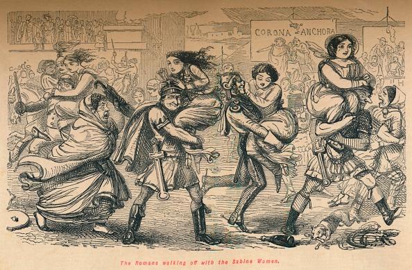Cartoon「The Romans Walking Off With The Sabine Women」:写真・画像(17)[壁紙.com]