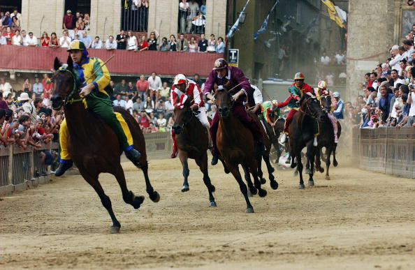 Horse「ITA: Siena's Holds Its Annual Palio Horseraces」:写真・画像(12)[壁紙.com]
