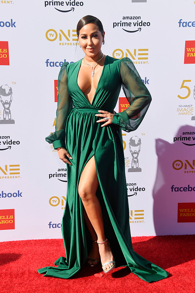 Adrienne Bailon「50th NAACP Image Awards - Arrivals」:写真・画像(10)[壁紙.com]