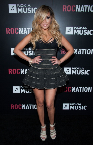 Adrienne Bailon「Roc Nation Pre-GRAMMY Brunch - Arrivals」:写真・画像(14)[壁紙.com]