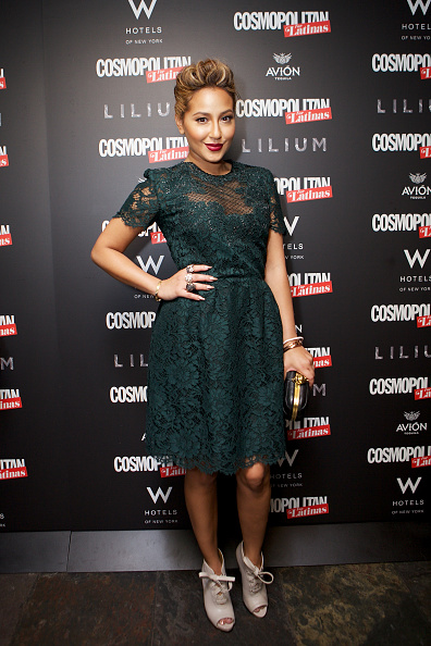 Adrienne Bailon「Cosmopolitan For Latinas' Fall Issue Party At Lilium At W Union Square」:写真・画像(5)[壁紙.com]