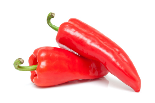 Cayenne Pepper「Red peppers isolated on white background」:スマホ壁紙(6)