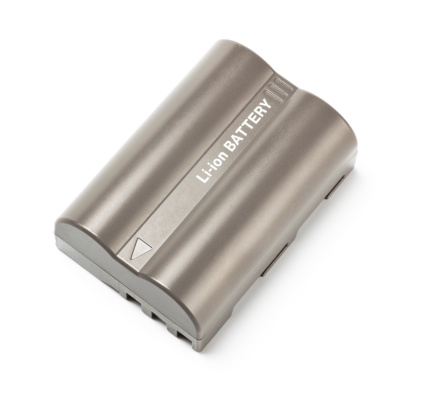 Rechargeable Battery「grey lithium-ion battery top view」:スマホ壁紙(5)