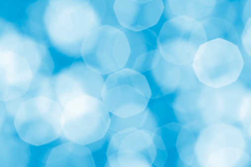Lens Flare「defocused soft blue lights」:スマホ壁紙(13)