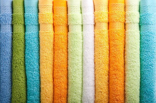Colorful towels:スマホ壁紙(壁紙.com)