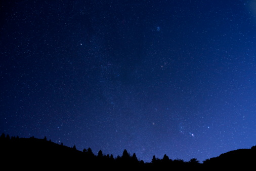 星空「Starlit Sky」:スマホ壁紙(6)