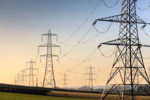 Electricity Pylon「An electricity pylon of the National Grid in Wales」:スマホ壁紙(19)