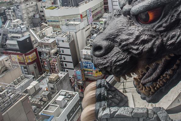 ゴジラ「Godzilla Welcomes Tourists To Tokyo」:写真・画像(7)[壁紙.com]