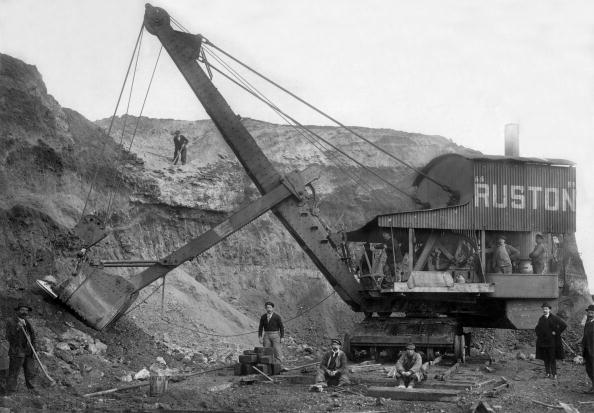 1900「Steam excavator by Ruston et Proctor, c. 1900」:写真・画像(7)[壁紙.com]