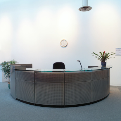 Hotel Reception「Reception desk of office building」:スマホ壁紙(4)
