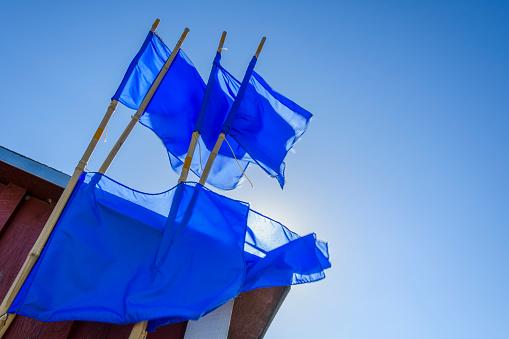 Helsingor「Blue Marking Flags for Fishing Nets」:スマホ壁紙(14)