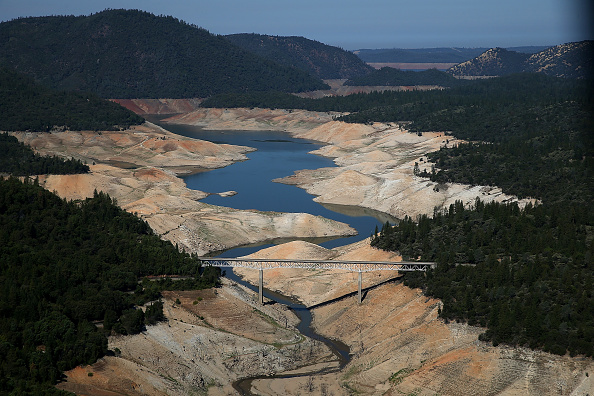 California「Statewide Drought Takes Toll On California's Lake Oroville Water Level」:写真・画像(13)[壁紙.com]