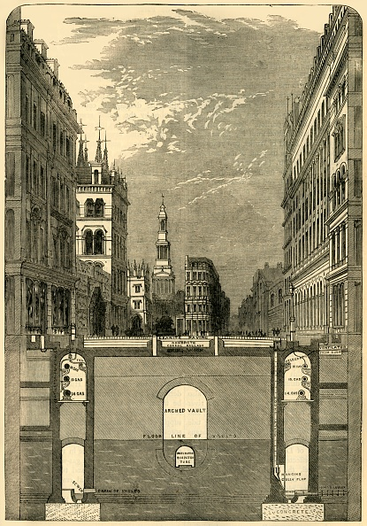 Bridge - Built Structure「Section Of The Holborn Viaduct」:写真・画像(16)[壁紙.com]