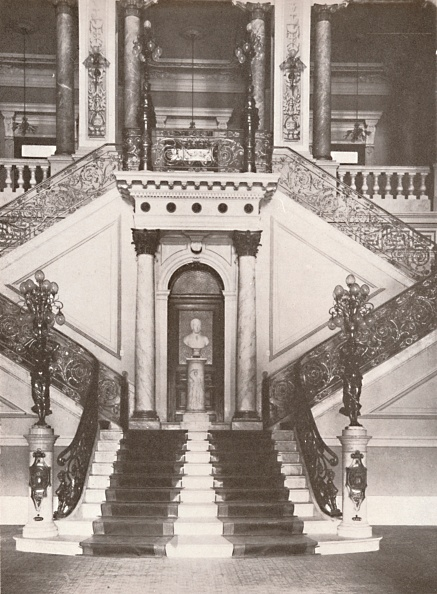 Metalwork「The National Library Staircase, 1914」:写真・画像(2)[壁紙.com]