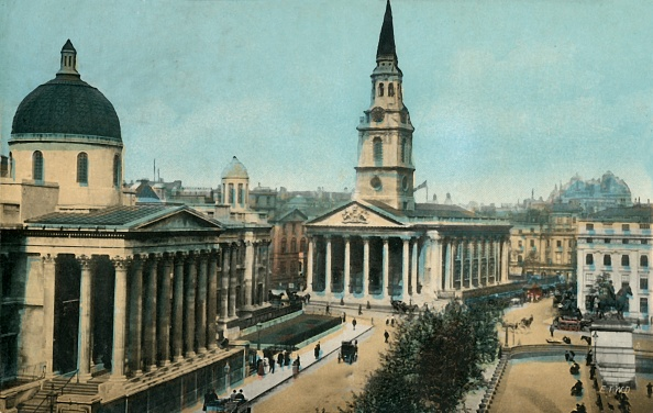 Post - Structure「The National Gallery And St Martin In The Fields」:写真・画像(3)[壁紙.com]